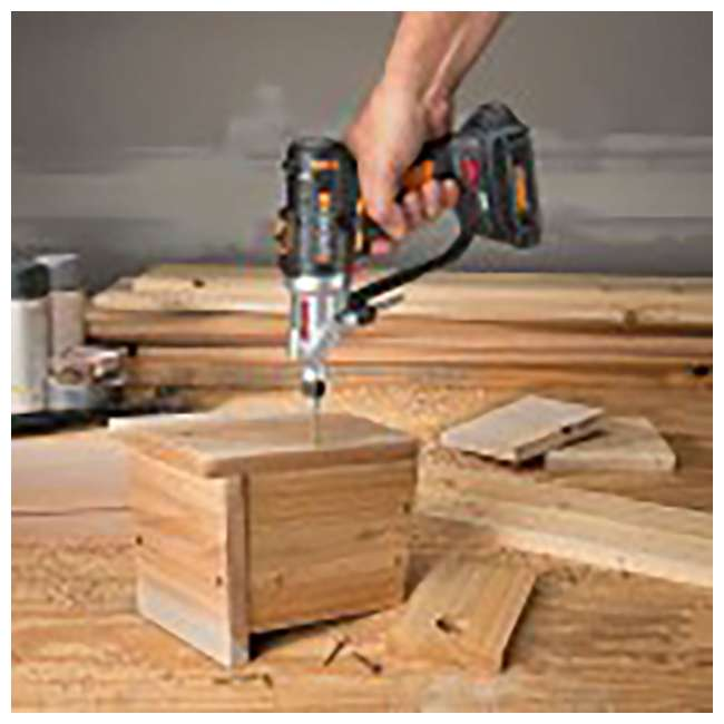 WX176L Worx Switchdriver 2-in-1 Electric Cordless Drill and Driver  3