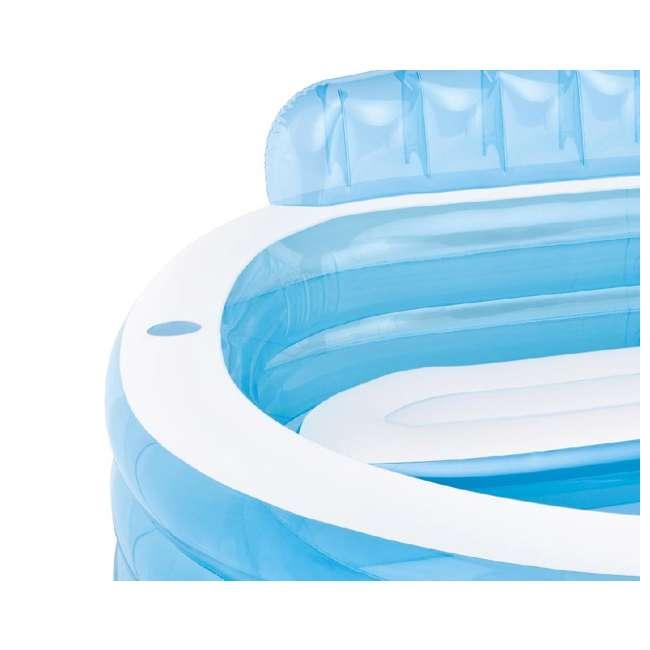 Intex Swim Center Inflatable Family Lounge Pool 57190ep