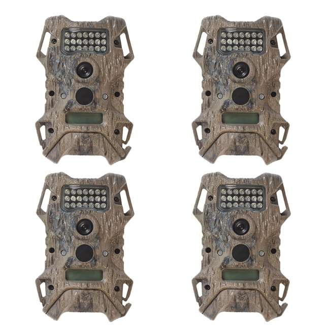 4 x WGI-CM0595 Wildgame Innovations Terra Extreme 12MP Hunting Game Camera  (4 Pack)