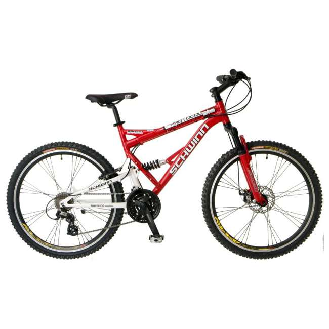 "S2756 Schwinn Protocol 1.0 Mountain Bike (26"" Red)"