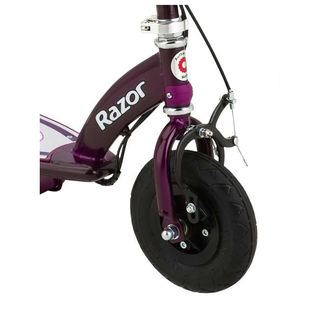 13111250 Razor E100 Electric Motor Powered Girls Scooter - Purple - For Parts 1