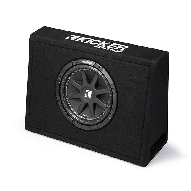 43TC104-OB Kicker 43TC104 Single 10-Inch Comp 150W Loaded Subwoofer Enclosure (Open Box)