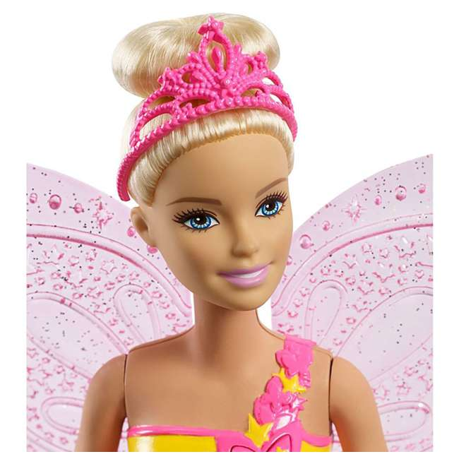 4 x FRB08 Mattel Barbie Dreamtopia Flying Wings Fairy Doll (4 Pack) 4