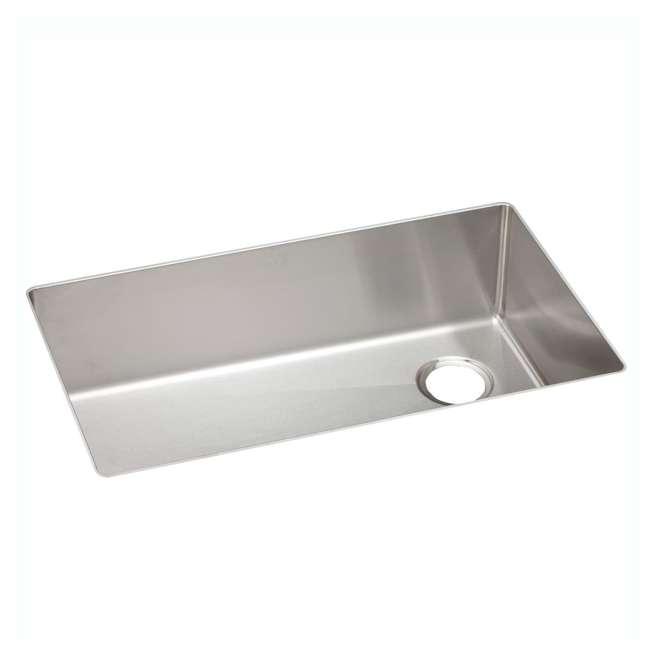 ECTRU30179RT-OB Elkay Crosstown 31-Inch Rectangular Undermount Single Bowl Sink (Open Box) 1