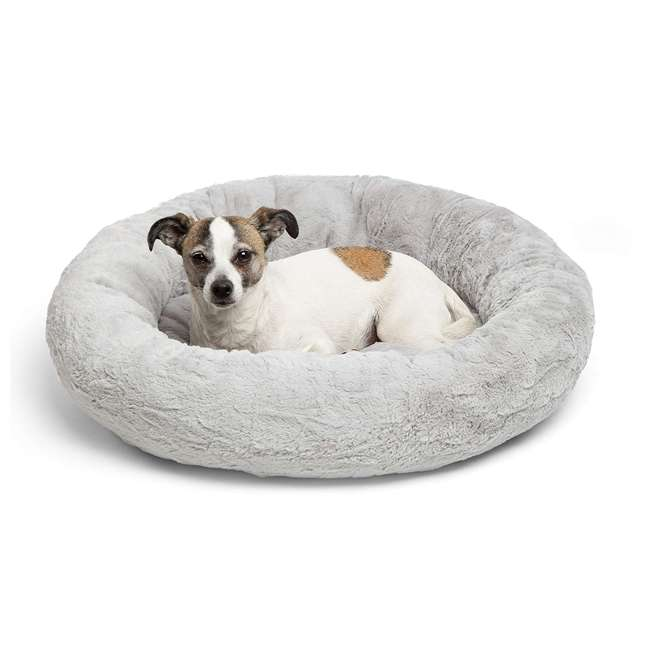 7 x DNT-LUX-GRY-2323 Best Friends by Sheri Orthopedic Donut Dog Bed (7 Pack) 5