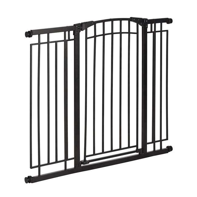4471110 36-Inch Adjustable Baby & Pet Safety Gate, Black 1