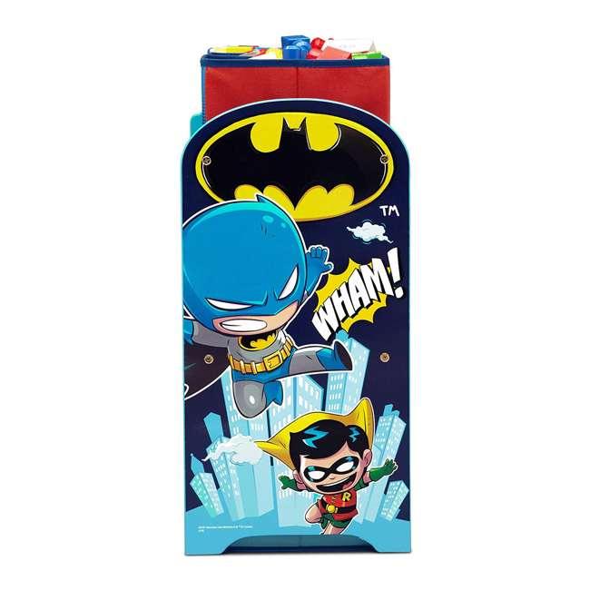 TB83438SP-1217 Delta Children DC Comics Super Friends Multi Toy Box Bin Wood Storage Organizer  3