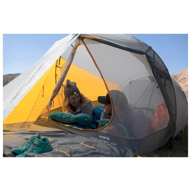 09M2OR01B Klymit 09M2OR01B Maxfield 2 Person 3 Season Lightweight Backpacking Camping Tent 7