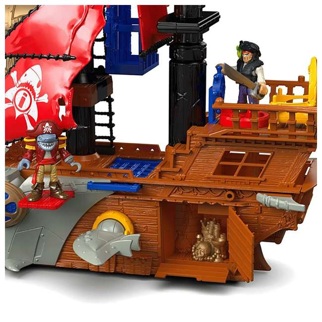 Fisher Price Imaginext Shark Bite Pirate Ship Playset : DHH61