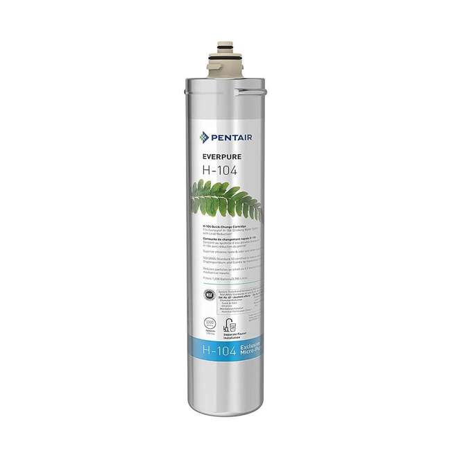 6 x EV961211 Everpure H-104 EV961211 Under Sink Water Filter Replacement Cartridge (6 Pack) 1
