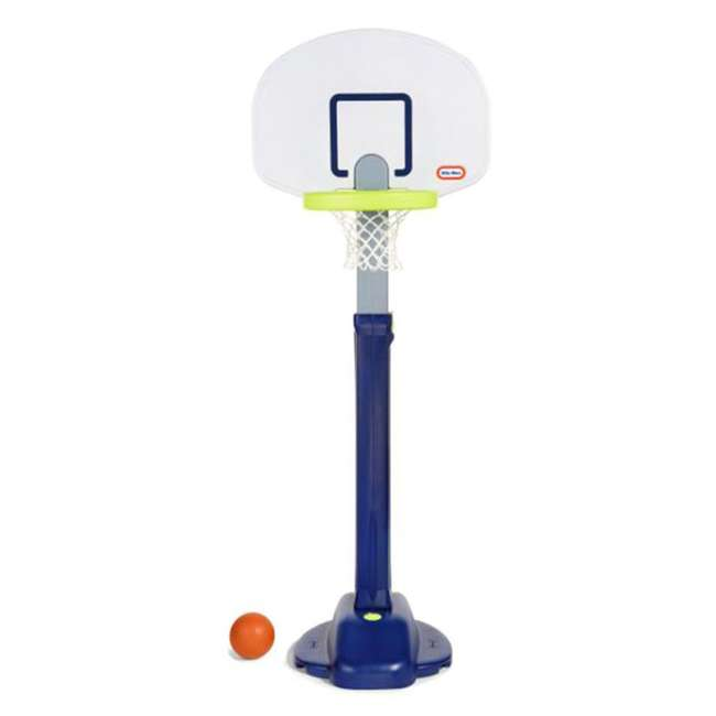 638206M Little Tikes Adjust 'n Jam Pro Basketball Hoop Toy  (2 Pack) 1