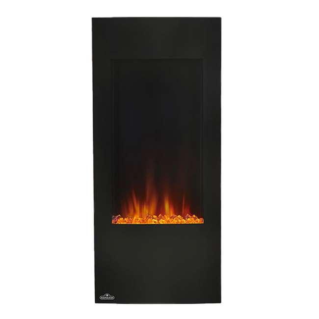 NEFV38H-OB Napoleon Azure Vertical 38 Inch Electric Fireplace w/ Remote(Open Box) 1
