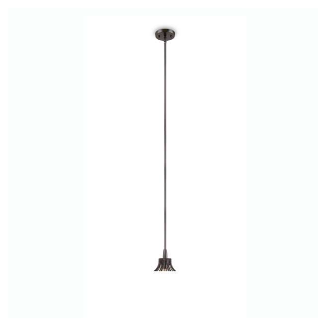 "PLC-4110502U9-U-A Philips 12"" Gabbia Glass Suspension Light Pendant, Oiled Bronze (Open Box) 2"