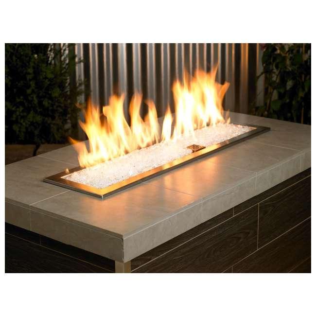 AFF-STFR-10 American Fireglass 10 LB Bag 1/4 Inch Reflective Fireplace & Pit Glass Star Fire 4
