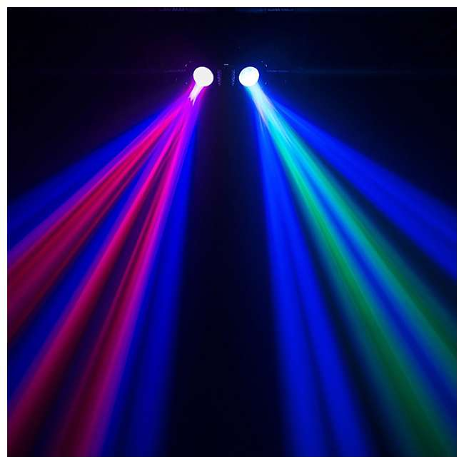 DUOMOON Chauvet DJ Duo Moon LED Light Effect (2 Pack) 4