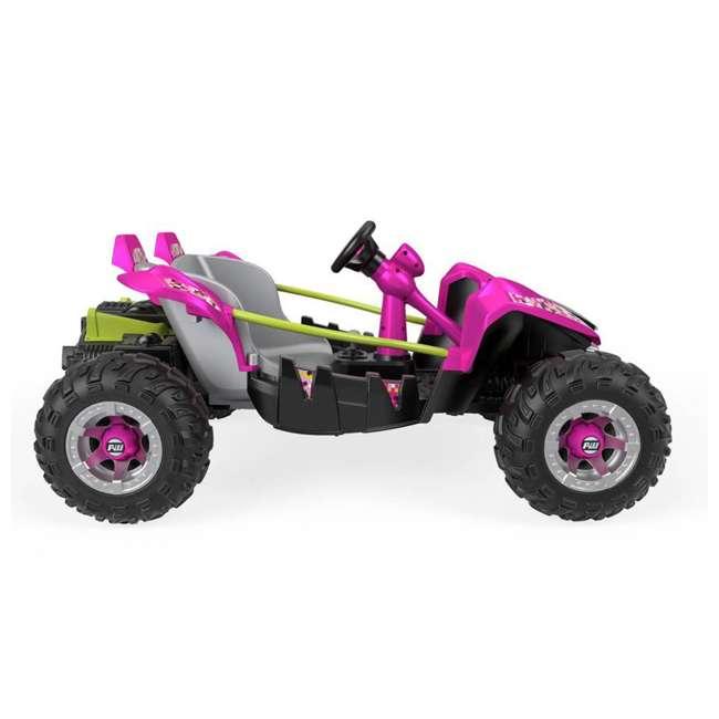 FLP27 + 74777 Power Wheels Battery Toy Car w/ Extra 12 Volt Rechargable Replacement Battery 4