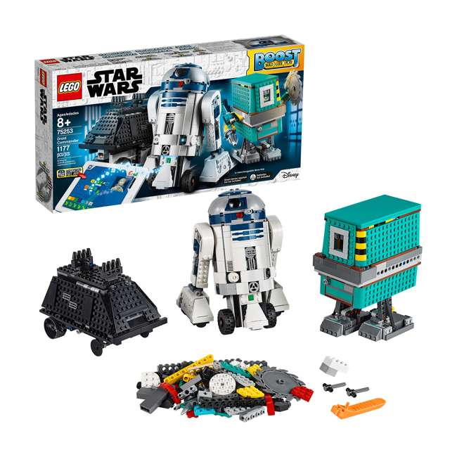 6251933 LEGO BOOST 75253 Droid Commander Block Building Kit w/ 3 Star Wars Robot Toys 1