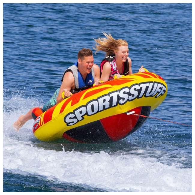 53-5320 Sportsstuff Oddball 2 Boat-Towable Inflatable Water Inner Tube 1