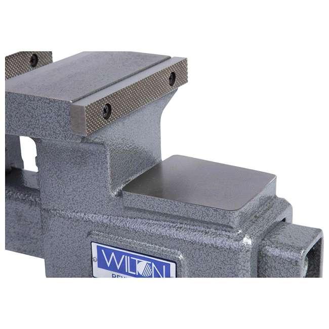 WIL-28821 Wilton 28821 5.5 Inch Jaw Width Anvil Reversible Swivel Base Work Bench Vise 4