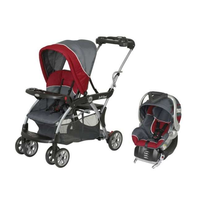 Baby Trend Sit N Stand DX Deluxe Stroller & Infant Car ...