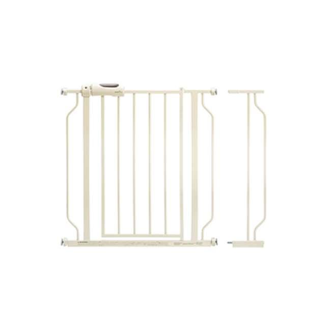 4486100 Evenflo Easy Walk-Thru Baby and Pet Safety Doorway Gate, White