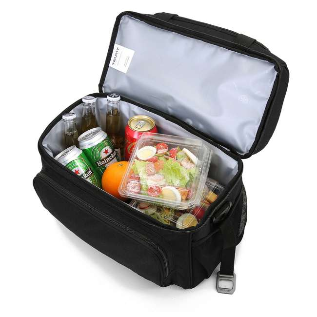 TR0260005A001 TOURIT TR0260005A001 Heron Soft Sided Insulated Lunch 15 Can Cooler Tote Bag 2