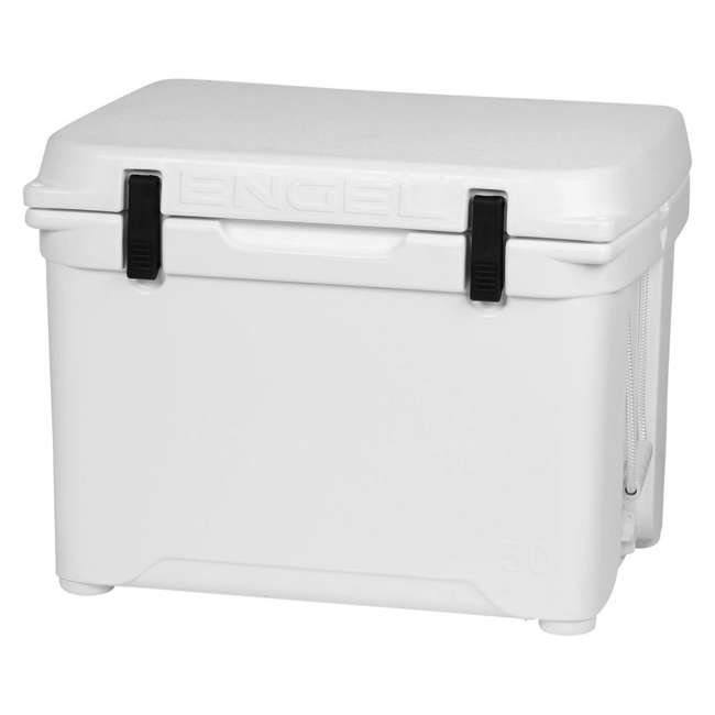 ENG50-OB Engel 50 High-Performance Roto-Molded Cooler, White (Open Box)