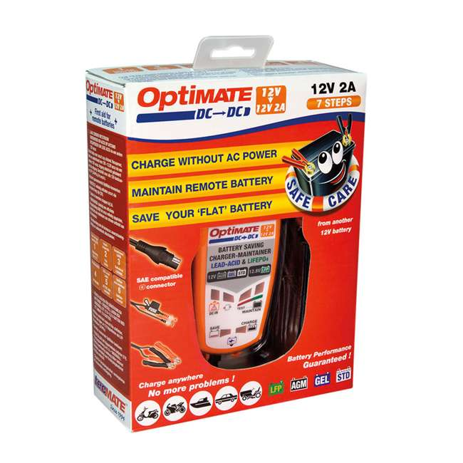 TM-500-U-B TecMate 4.3 Polar Year Round Battery Charger for 12V Lead Acid Battery (Used)