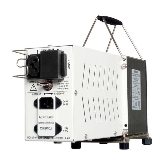 Hydrofarm 1000w Hps Grow Light Kit Reflector Ballast