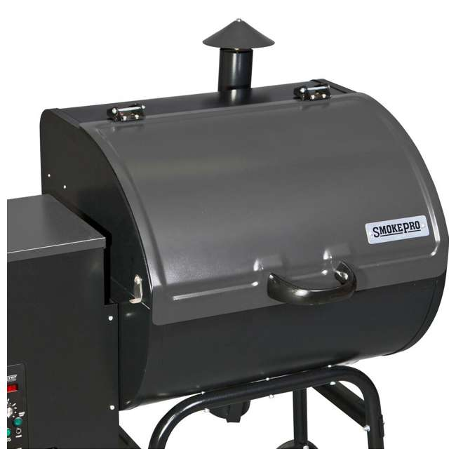 PG24STX Camp Chef SmokePro STX Wood Pellet BBQ Grill and Smoker, Black | (Open Box) 2