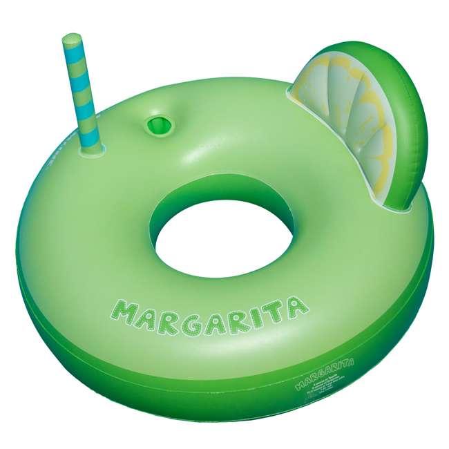 SL-90198 Swimline Inflatable Margarita Swimming Pool Float Tube