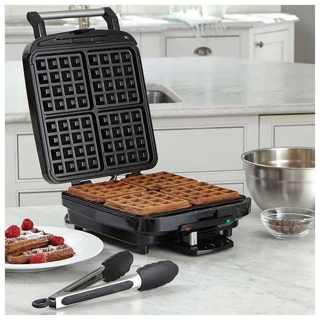 WAF-150-RB Cuisinart 4 Slice Belgian Waffle Maker (Certified Refurbished) (2 Pack) 4