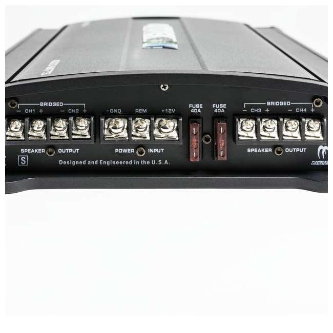 MM4020.4 Autotek MM4020.4 Mean Machine 4000-Watt 4-Channel Bridgeable Amp (2 Pack) 4
