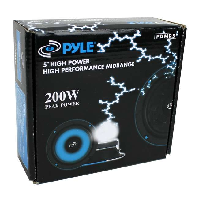 PDMR5 Pyle PDMR5 5-Inch 200W Mid Bass Speakers 4