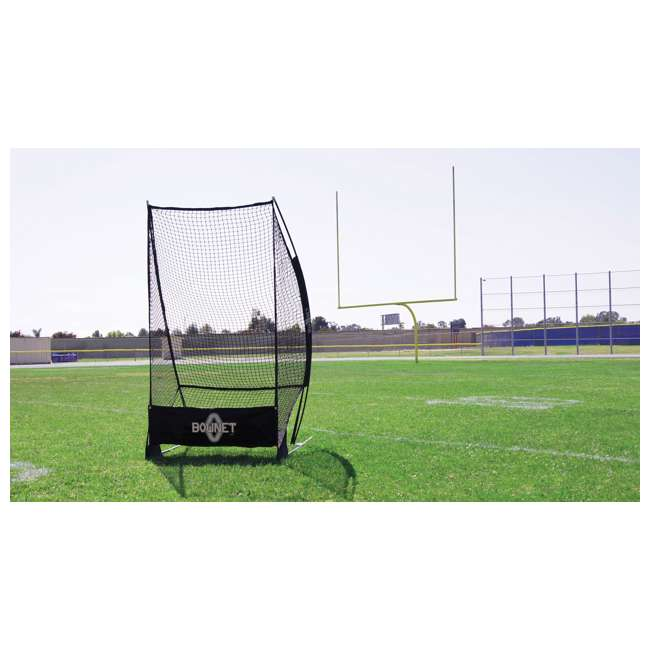 Bow-SoloKicker-BK Bownet Portable Football Sideline Solo Kicker 2