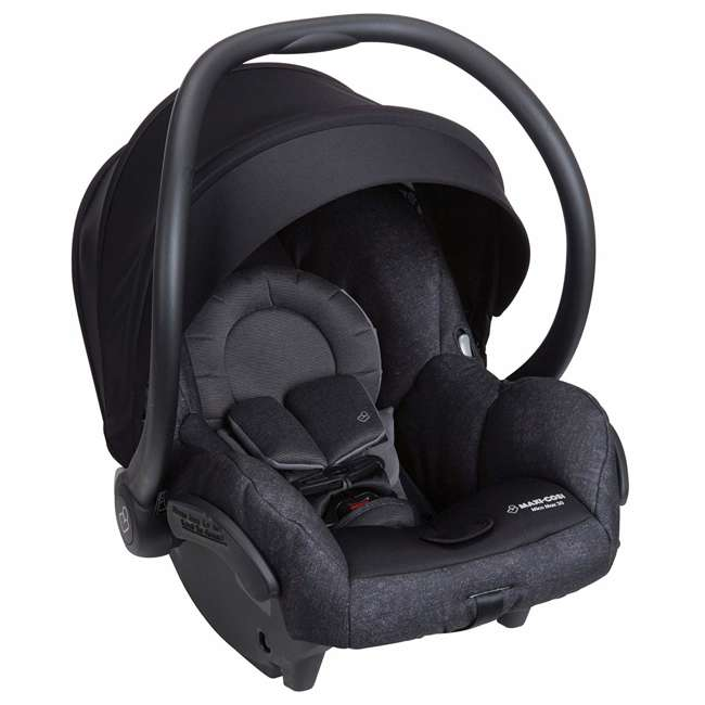 IC302ETKA Nomad Mico Max 30 Infant Rear Facing Car Seat, Black 1