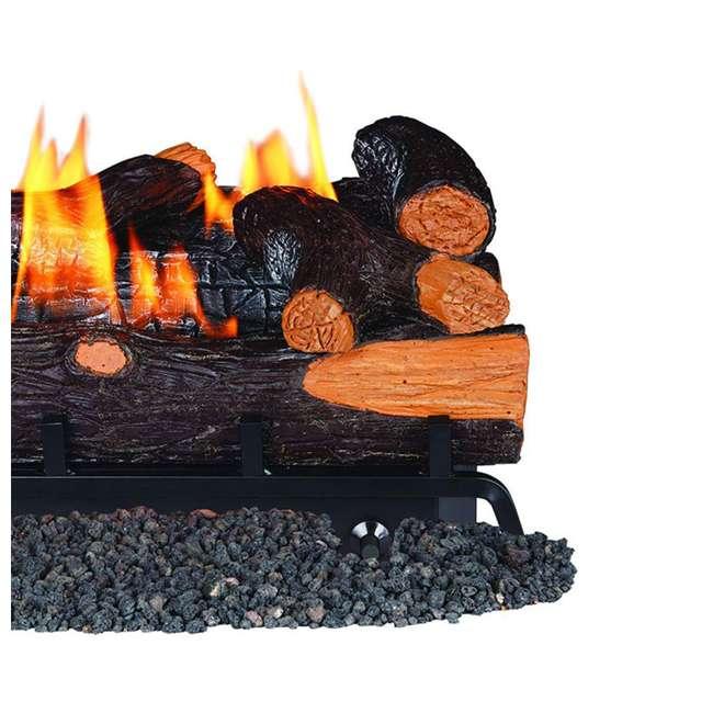 REM-L240CNR-F-U-C Remington 24 Inch Rocky Point Split 32,000 BTU Natural Gas Log Set (For Parts) 2