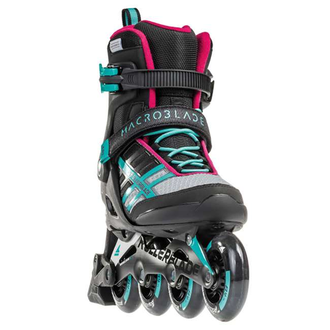 07734500986-6 Rollerblade Macroblade 84 ABT Womens Performance Inline Skates, Emerald Green 6