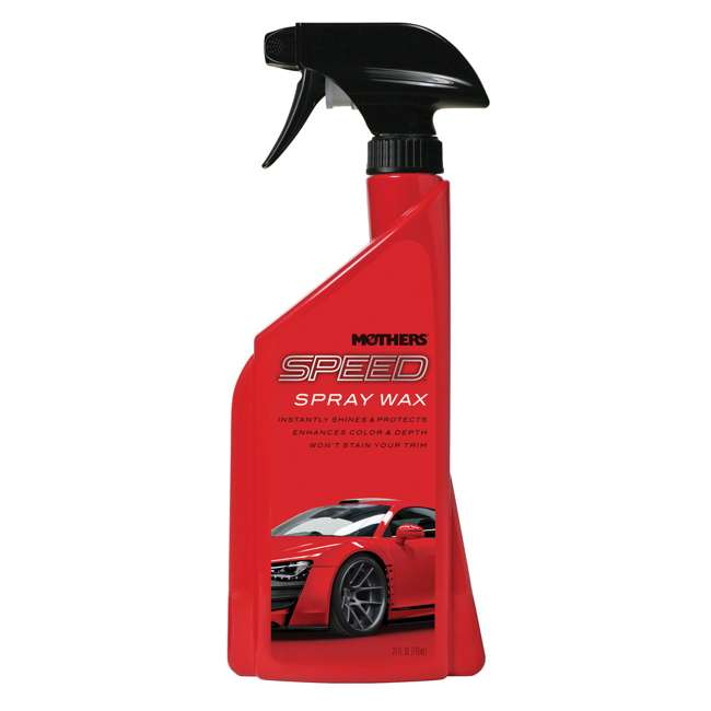 15724 Mothers Polish 24 Oz Bottle of Speed Spray Wax for Automobile Exteriors (4 Pack) 1