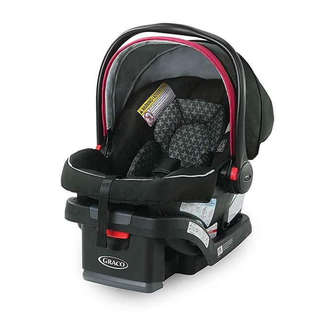 2081084 Graco Modes 3 Lite DLX Baby Stroller & Infant Car Seat Travel System, Arbis Pink 3