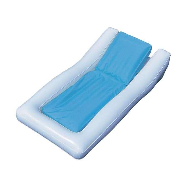 15090B Swimline Inflatable SunSoft Hybrid Lounge Ride-On Swimming Pool Float