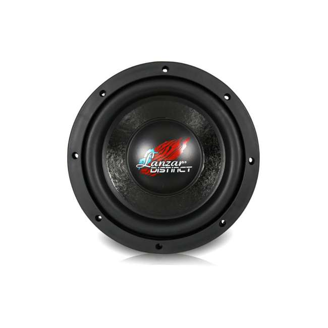 4 x DCTS84 Lanzar Distinct High-Power 800W 8-Inch Subwoofer (4 Pack) 2