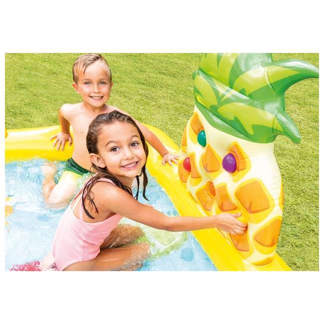 57158EP Intex 57158EP Fun'N Fruity Outdoor Inflatable Kiddie Pool Play Center with Slide 6
