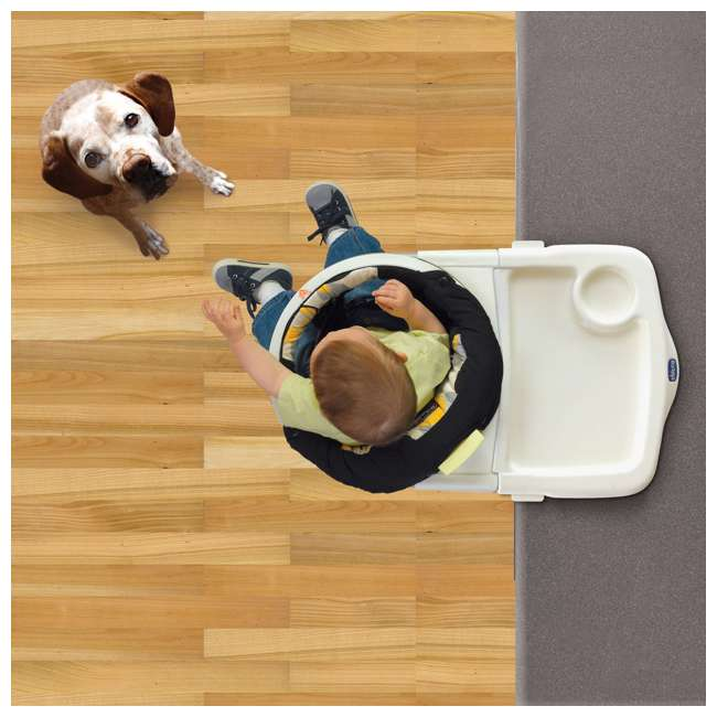 CHI-0706170530 Chicco 360 Rotating Hook-On Highchair (2 Pack) 3