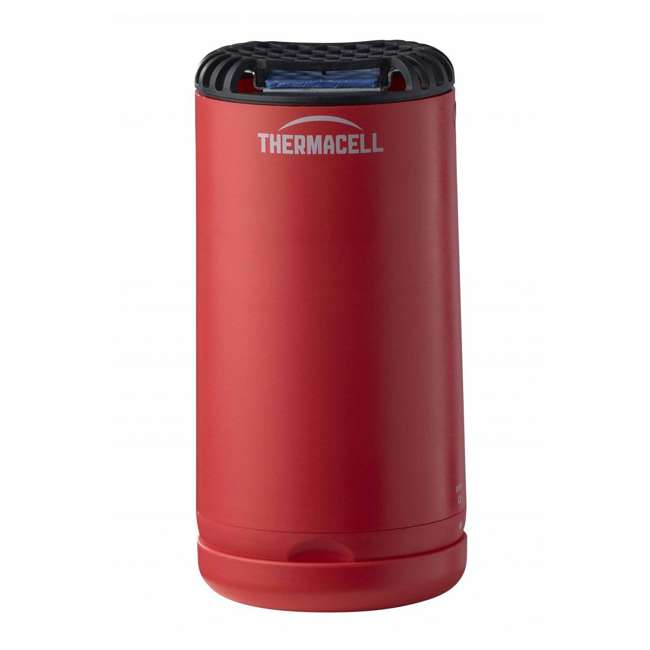 MRPSR Thermacell Outdoor Patio and Camping Shield Mosquito Insect Repeller, Fiesta Red