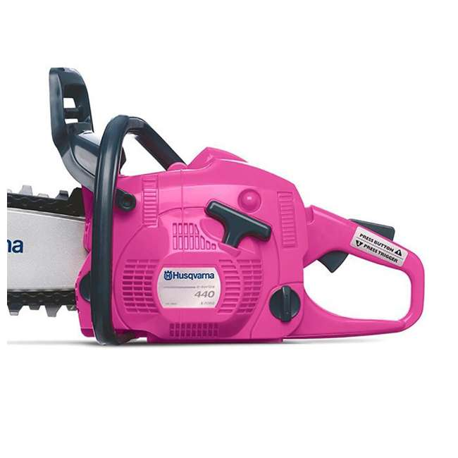 HV-TOY-588883201 Husqvarna Limited Edition Pink Toy Chainsaw 4