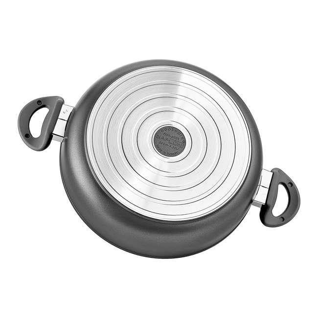 SFSAUTE4T Saflon SFSAUTE4T 4 Quart Nonstick Titanium Aluminum Saute Pot and Glass Lid 2