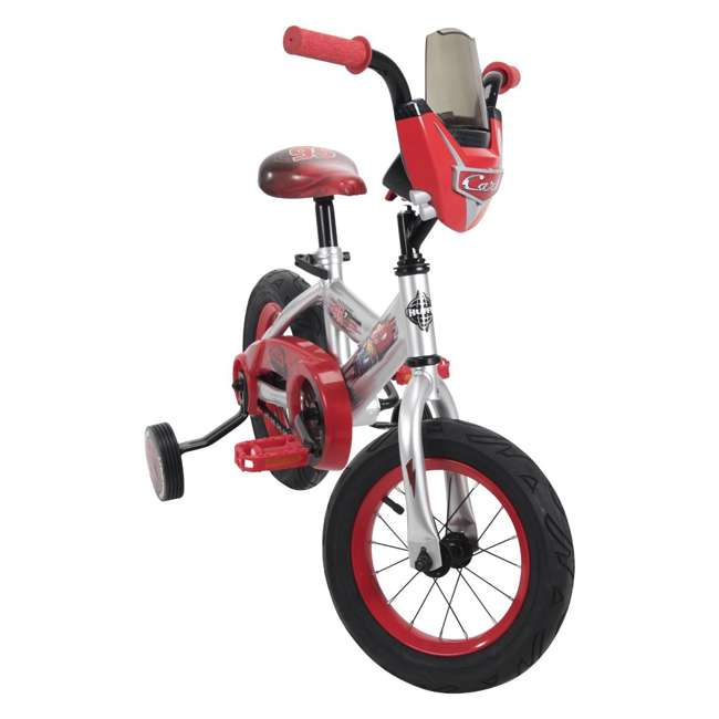 22449 Huffy 22449 12-Inch Single Speed Disney-Pixar Cars Bike for Ages 3 to 5, Red 5