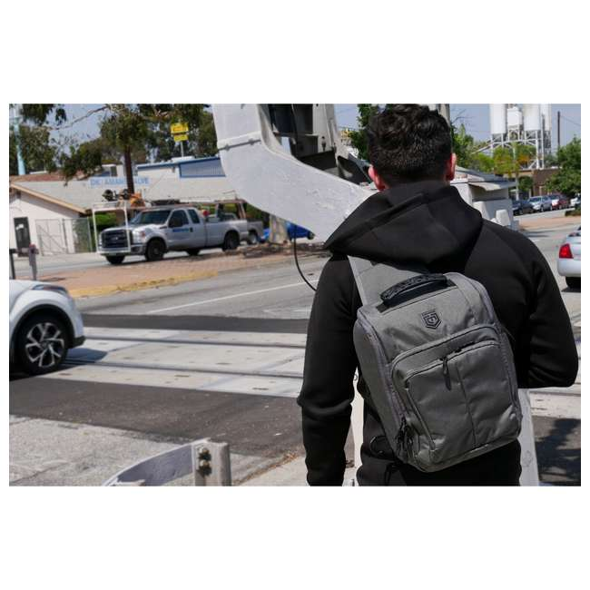 CPG-BP-OSB-M-DG Cannae Pro Gear Optio Sling Pack, Dark Gray 4