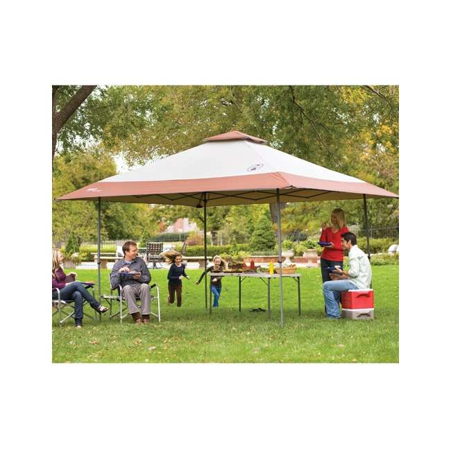 Coleman Instant Shelter C&ing Back Home Canopy 13u0027 x 13u0027 + 4 Person Portable Picnic Table  sc 1 st  VMInnovations & Coleman Instant Shelter Camping Back Home Canopy 13u0027 x 13u0027 + 4 ...